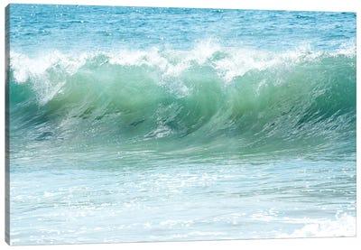 Malibu Blue Canvas Art Print