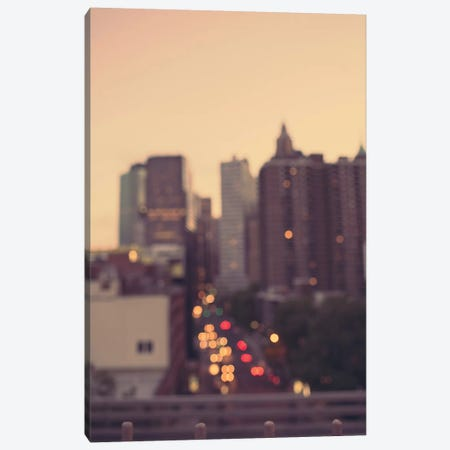 Manhattan Golden Hour Canvas Print #AHD92} by Ann Hudec Art Print
