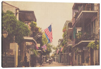 Morning In New Orleans Canvas Art Print