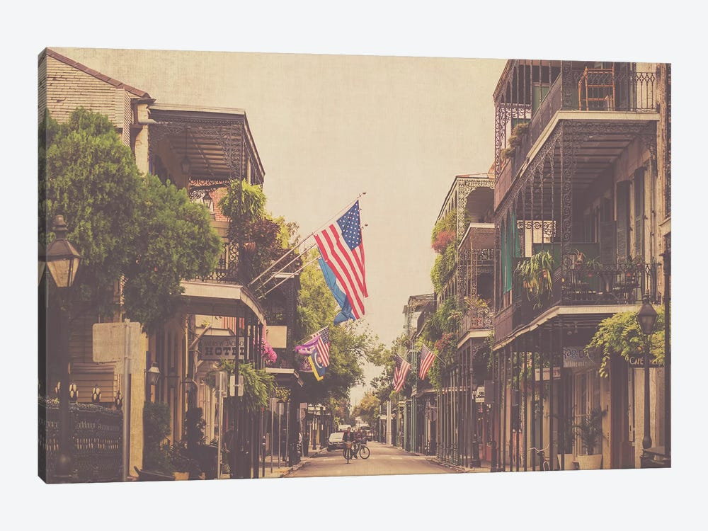 Morning In New Orleans by Ann Hudec 1-piece Canvas Wall Art