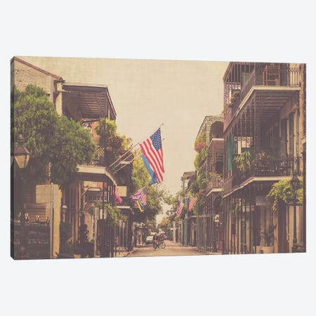 Morning In New Orleans Canvas Print #AHD99} by Ann Hudec Canvas Print