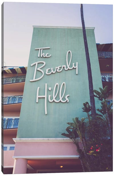 Beverly Hills Hotel I Canvas Art Print