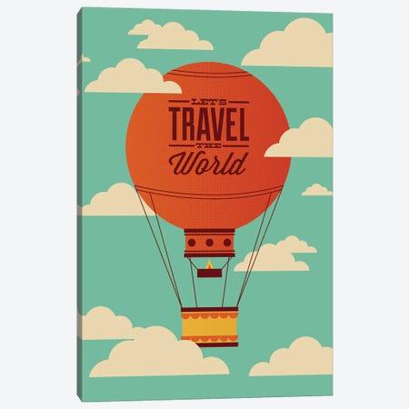 Travel the World Canvas Print #AHH100} by Andrew Heath Canvas Art Print