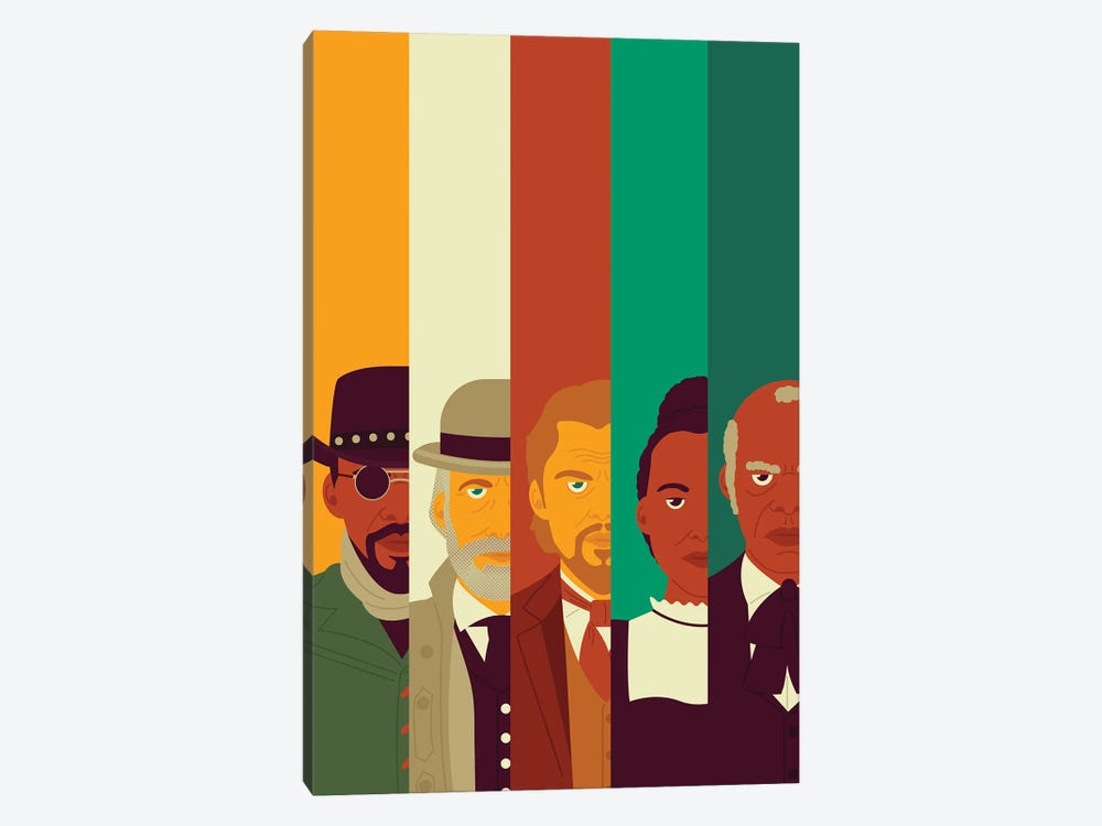 Unchained by Andrew Heath 1-piece Canvas Art Print