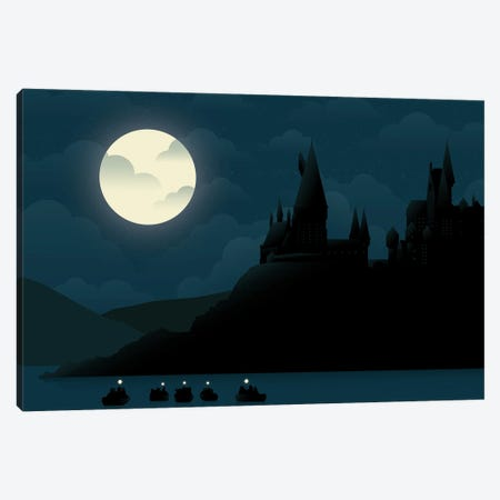 Witchcraft & Wizardry Canvas Print #AHH108} by Andrew Heath Canvas Print