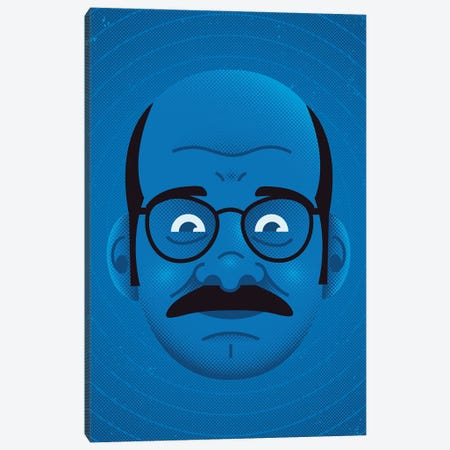 Blue Myself Canvas Print #AHH11} by Andrew Heath Canvas Art Print