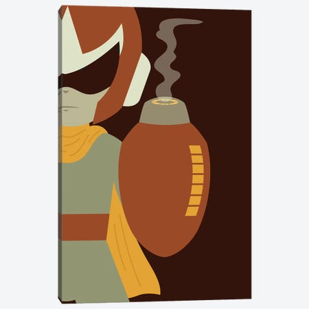 Break Man Canvas Print #AHH16} by Andrew Heath Canvas Artwork