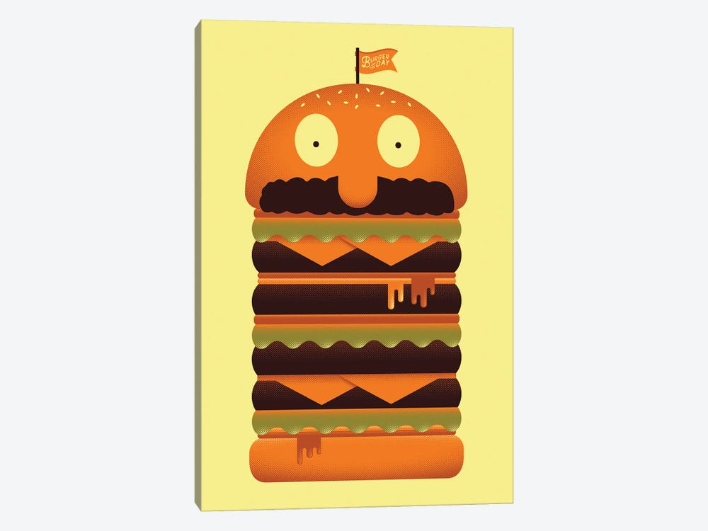 Burger of the Day by Andrew Heath 1-piece Canvas Print