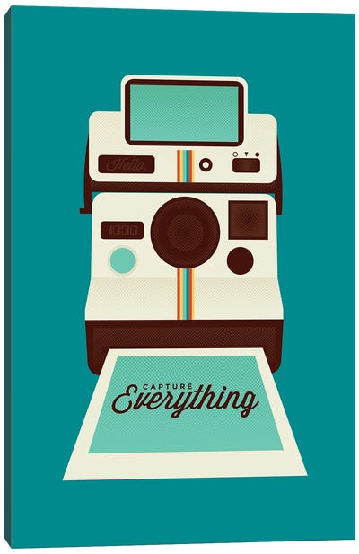Capture Everything Canvas Art Print