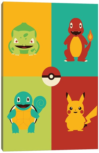 Catch Em All Canvas Art Print