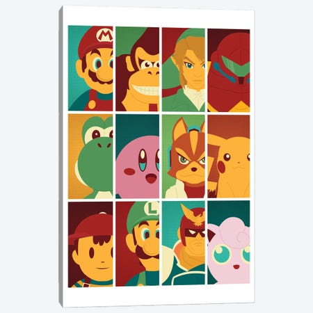 Class of '99 Canvas Print #AHH22} by Andrew Heath Canvas Art