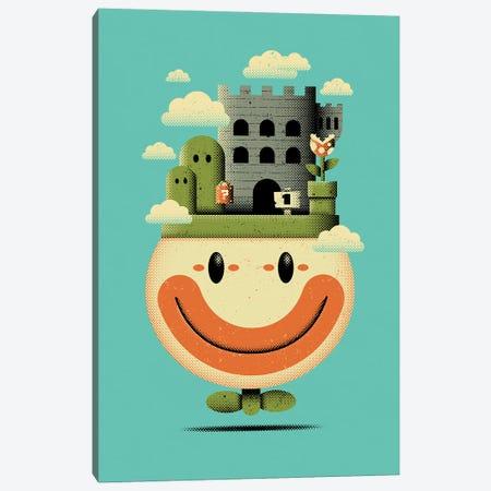 Clown Terrarium Canvas Print #AHH23} by Andrew Heath Canvas Artwork
