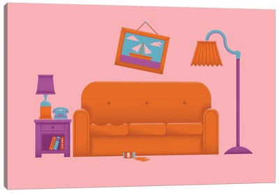 Couch Gag Canvas Art Print