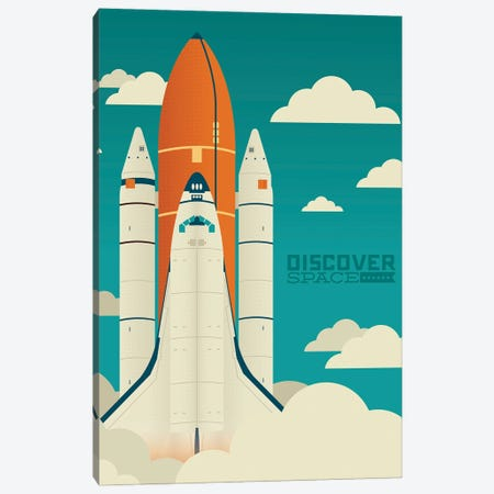 Discover Space Canvas Print #AHH26} by Andrew Heath Canvas Art Print
