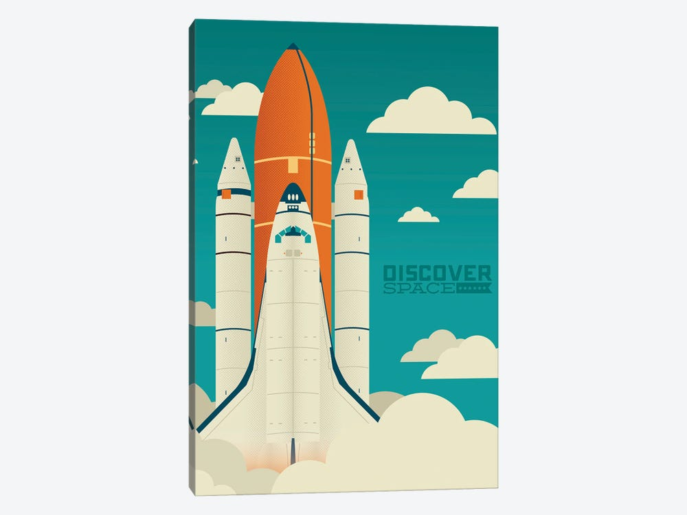 Discover Space by Andrew Heath 1-piece Canvas Art