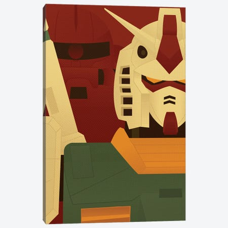 0079 Canvas Print #AHH2} by Andrew Heath Canvas Art