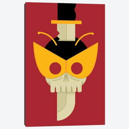 Hench Till Death Canvas Print #AHH42} by Andrew Heath Canvas Wall Art