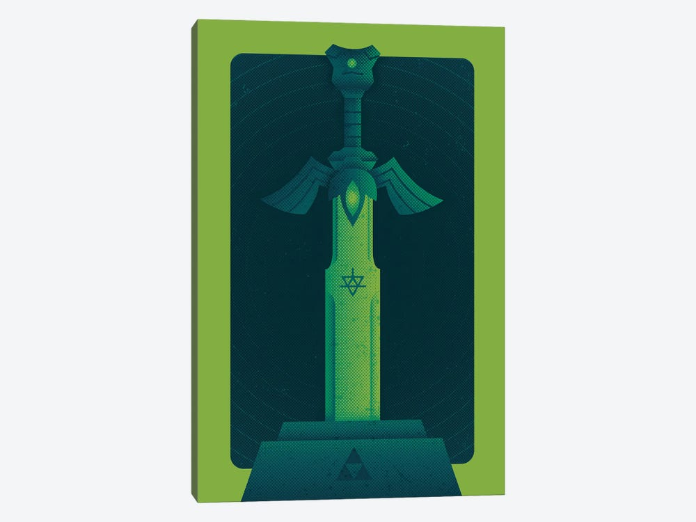 Heroes Sword by Andrew Heath 1-piece Canvas Art Print