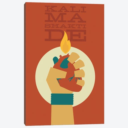 Kali Ma Canvas Print #AHH51} by Andrew Heath Canvas Print
