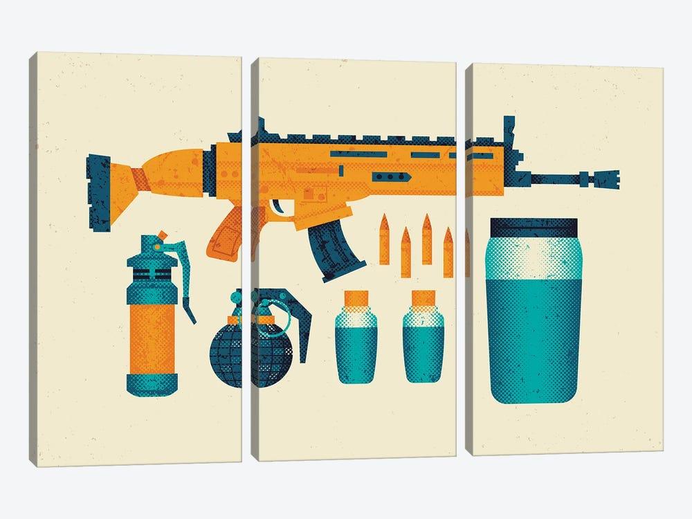 Loot by Andrew Heath 3-piece Canvas Art Print