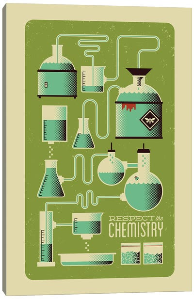 Respect the Chemistry Canvas Art Print