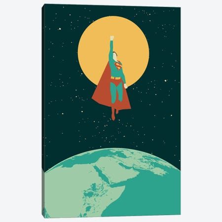 Smallville Canvas Print #AHH79} by Andrew Heath Art Print