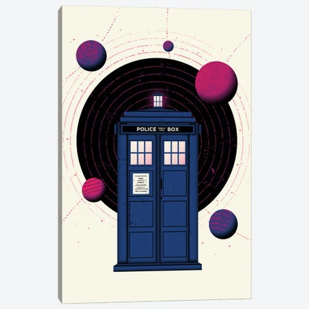 Space & Time Canvas Print #AHH81} by Andrew Heath Canvas Art