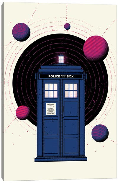 Space & Time Canvas Art Print