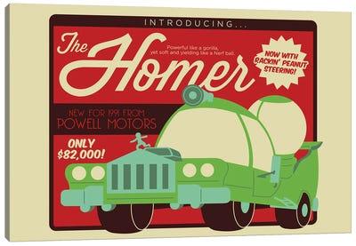 The Homer Canvas Art Print