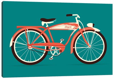 Bicycle Canvas Art Print