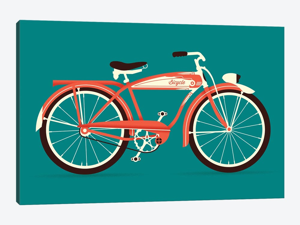 Bicycle by Andrew Heath 1-piece Canvas Art