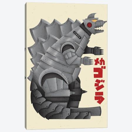The Mechanical Terror Canvas Print #AHH91} by Andrew Heath Art Print