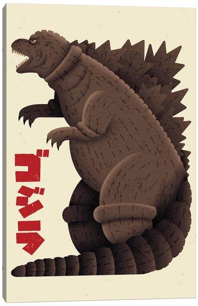 The Monster King Canvas Art Print