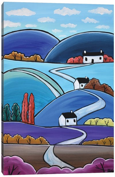 Blue Hills Canvas Art Print