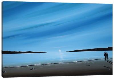 Coastal Walk II Canvas Art Print
