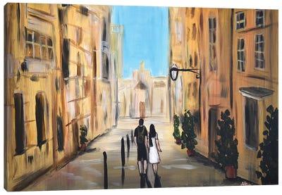 Holiday Away Canvas Art Print