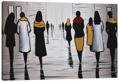 Modern Figures V Canvas Art Print