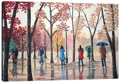 Park Reflections Canvas Art Print