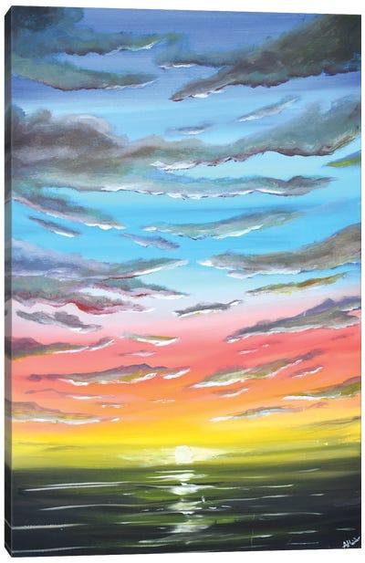 A Sunset Sky Canvas Art Print