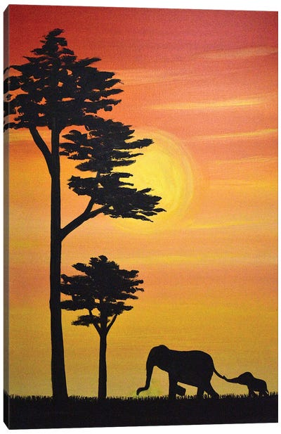Come Along Canvas Art Print