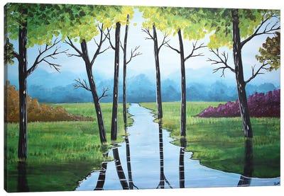 A Beautiful Landscape Canvas Art Print