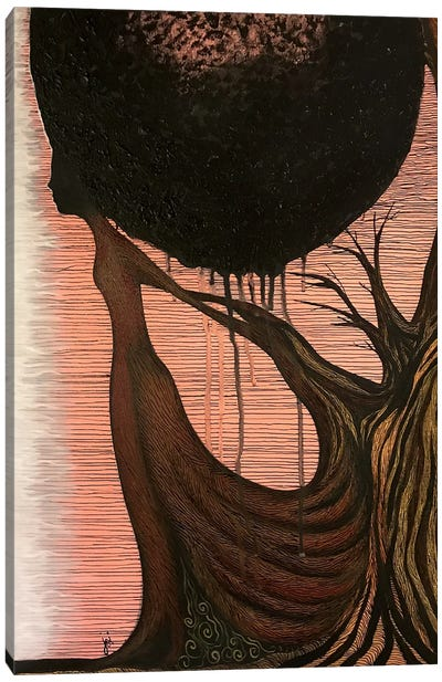 Hill House Canvas Art Print