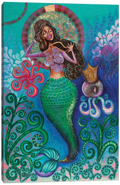 Treasures Of The Sea Canvas Art Print