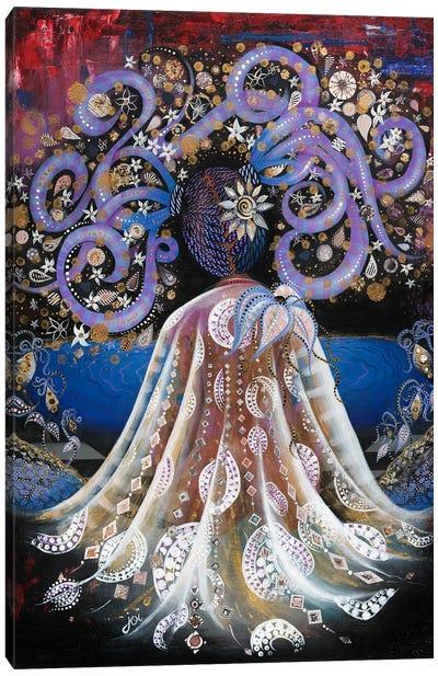 Night Blooming Jasmine Canvas Art Print