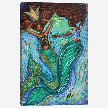 Crowned Beauty Canvas Print #AHJ17} by Ashley Joi Canvas Art