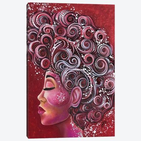 Ruby Woo Canvas Print #AHJ20} by Ashley Joi Canvas Wall Art