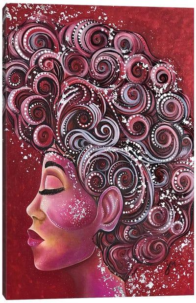 Ruby Woo Canvas Art Print