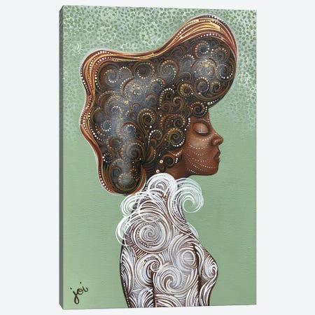 Spun Cotton Canvas Print #AHJ21} by Ashley Joi Canvas Art