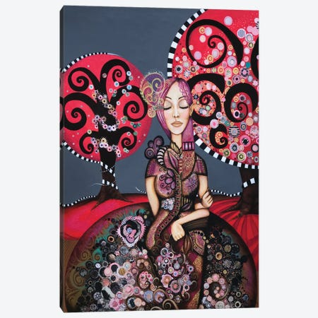 Bloom Canvas Print #AHJ2} by Ashley Joi Canvas Art