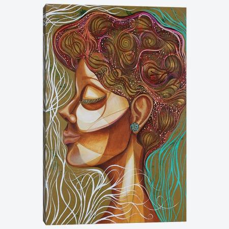 Rose Bush Canvas Print #AHJ35} by Ashley Joi Canvas Artwork